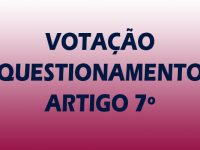 ARTIGO 7º DO REGULAMENTO DO C1O